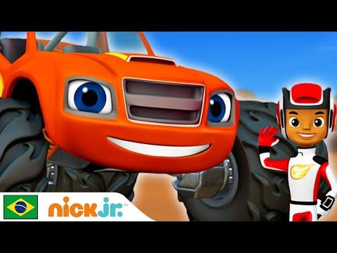 Blaze and the Monster Machines   Fazendo amigos 🤜   Nick Jr.