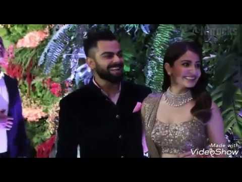 Celebrity at Virat Anushka wedding Reception