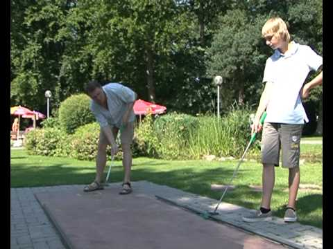 Mini Golf im Kurpark Bad Aibling