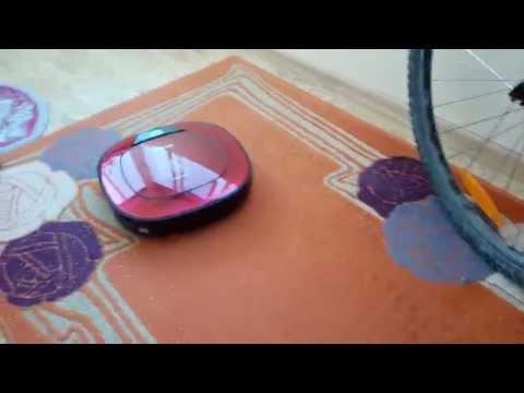 Видео 1 – Обзор робота пылесоса LG Hom-bot square - Уборка (видео)