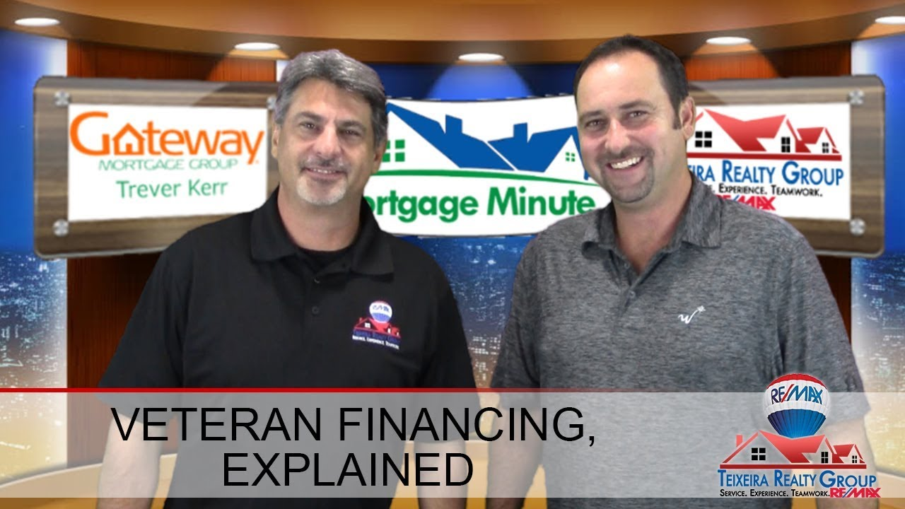 Mortgage Minute 3: Loan Products for Veterans
