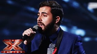 Andrea Faustini sings Sia's Chandelier | Live Week 8 | The X Factor UK 2014