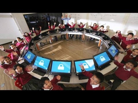 HP - HP Classroom of the future http://www.mobilegeeks.com HP is looking to shape our future leaders by bringing interactive, integrated, flexible solutions to th...