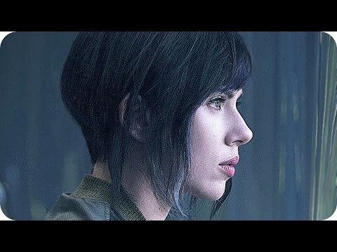 GHOST IN THE SHELL All Teaser Trailers (2017) Scarlett Johansson Movie