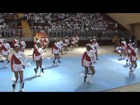 bastoneras - Presentación en el Colegio Benalcazar 2012.
