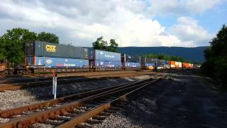 Burnham (PA) United States  city photos : CSX Rerouted Train On The NS Line In Lewistown Pa
