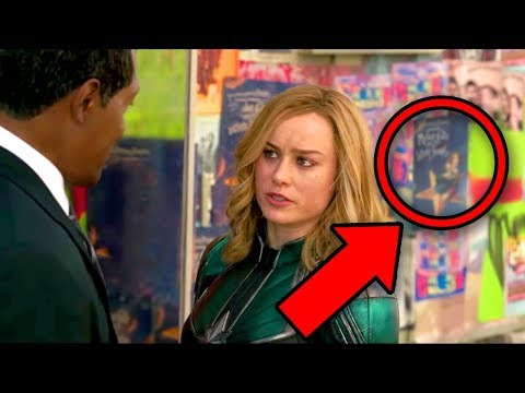 Captain Marvel (2019) Comic Book Easter Eggs & Timeline Explained!