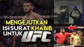 Video SURAT MENGEJUTKAN KHABIB NURMAGOMEDOV UNTUK UFC MP3, 3GP, MP4, WEBM, AVI, FLV Februari 2019