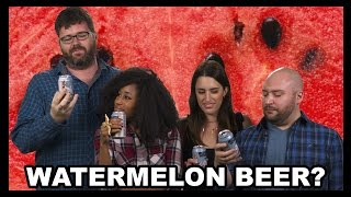 Ti is back with the Tasted Drinking Squad to taste test 21st Amendment Brewery's Hell or High Watermelon wheat beer.  The gang loved the brewery's Toaster Pastry Ale, so will this one have a similar response?Have you ever tried Hell or High Watermelon?  Let us know in the comments!! Are you new? Then catch up with a few hundred episodes of The Food Feeder: http://goo.gl/z1ypZ Want to know what's going on with Food Feeder and Tasted in the future?Follow us on for updates:Ti: http://youtube.com/nappyheadedjojobaNoah: http://www.twitter.com/GalutenTasted: http://www.twitter.com/TastedChannelOh and we're on The Facebook: http://www.facebook.com/TastedChannelTune in to the Food Feeder with Tasted's food guru, Noah Galuten. Noah's been there and done that in pretty much every aspect of the culinary scene from his stint as a popular food writer for LA Weekly to now opening his own highly anticipated BBQ restaurant. Hop on for the ride as Noah gives us the inside scoop on what's hot and happening in the world of fascinating food from breaking news, to awesome events, cool chefs, incredible restaurants and all around good eats. Noah's the guy for everything you ever wanted to know about food... and then some.Watch more recent videos on Tasted:Why Would You Drink...Blood Orange Beer?https://youtu.be/gEG1byrjj5YBurger King's Mac N' Cheetos a RIP OFF??? - Food Feederhttps://youtu.be/KAunJFUP1_cMcDonald's Walk-Thru Lane - Food Feederhttps://youtu.be/FlSK-aSERb0Cheeto Burritos from Taco Bell - Food Feederhttps://youtu.be/BgU8IIt54dcMcGriddles All McDay? - Food Feederhttps://youtu.be/_MfkXZyFfB8The Most Expensive Wine in the World! - Food Feederhttps://youtu.be/xUCCCo2_e1YGrass-fed Burgers...from Chili's... - Food Feederhttps://youtu.be/CbbEtRCvv-cUgh.  Even Kale Is Bad for You Now - Food Feederhttps://youtu.be/pjj07OeyjKoBlack Ice Cream?!?!?! - Food Feederhttps://youtu.be/SAY6RbwRtMUA Restaurant for Cereal?!?!? - Food Feederhttps://youtu.be/QRX_agRZ_WMS'mores & Red Velvet Chips Ahoy! + Microwave = ??? - Food Feederhttps://www.youtube.com/watch?v=shodHcZ7CXgCheetos & Doritos IN ONE BAG?!?!?! - Food Feederhttps://www.youtube.com/watch?v=fYFsRKpP488Jif's Hazelnut Cheesecake Spread Gives Us a Sugar High!! - Food Feederhttps://www.youtube.com/watch?v=zRQax1UkRfUWe're Finally Trying Sriracha Cheez-It Snack Mix! - Food Feederhttps://www.youtube.com/watch?v=1N2Li6iE01oMaple Bacon Pop Tarts, In Our Face Holes. - Food Feederhttps://www.youtube.com/watch?v=0AXomF59F9gDoes Hershey's Simply 5 Syrup Taste Better Than The Original??? - Food Feederhttps://www.youtube.com/watch?v=GKtOuIP5ukUBad News for Soda Fans! - Food Feederhttps://www.youtube.com/watch?v=WSGBaXHtf0oWatermelon Pop Tarts, And They're Not Even Expired - Food Feederhttps://www.youtube.com/watch?v=l5jliEzLakMDo S'mores M&Ms Taste Like Camping? - Food Feederhttps://www.youtube.com/watch?v=zkBf5gz6hdoNoah's Back and He's Eating Chicken Fries Rings!! - Food Feederhttps://www.youtube.com/watch?v=Rpn5hpj_mm4Keurig + Krispy Kreme!!! - Food Feederhttps://www.youtube.com/watch?v=cecc3aRTEAAA Shake Shack Burger with PORK RINDS ON IT?! - Food Feederhttps://www.youtube.com/watch?v=z6fUc4tC2OIHealthy Hershey's?!?!?! - Food Feederhttps://www.youtube.com/watch?v=W237MO9LmS4Starbucks Wants You To Have S'More!!! - Food Feederhttps://www.youtube.com/watch?v=hEzyoW6Cas8Burger King's Latest Mashup: Whoppers + Hot Dogs - Food Feederhttps://www.youtube.com/watch?v=kzaAnFBr1ncIf You Like It Then You Make A Chicken Ring Of It!! - Food Feederhttps://www.youtube.com/watch?v=KvqDyYVzU4ESonic Got Jacked… With Flavor!! - Food Feederhttps://www.youtube.com/watch?v=fcO4Sp2fels