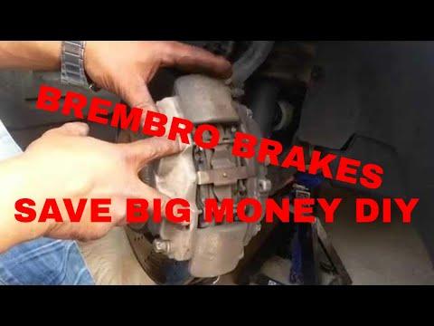 Mercedes Benz E550 Brakes and Rotor Repair Saving MO MONEY!!
