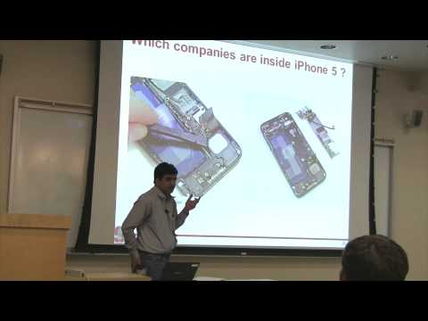 iphone 5 components - What are the different components inside the iPhone and iPad and how much do they cost Week 1, Lecture 1, Part 3. Stanford University's Nanomanufacting class...