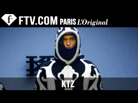 Fashion TV - http://www.FashionTV.com/live LONDON- Watch KTZ's Men Fall/Winter 2015 excentric collectin on the runway at London Collections: Men. From fur to rubber, KTZ's collection had many mixed...