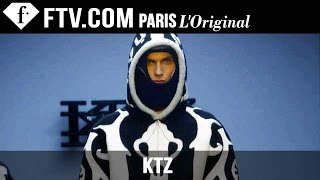 KTZ Men Fall/Winter 2015 | London Collections: Men | FashionTV