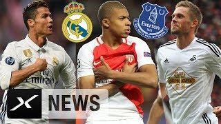 Medienberichten zufolge zahlt Real Madrid 180 Millionen Euro für Kylian Mbappe. Zudem soll Cristiano Ronaldos Zukunft...