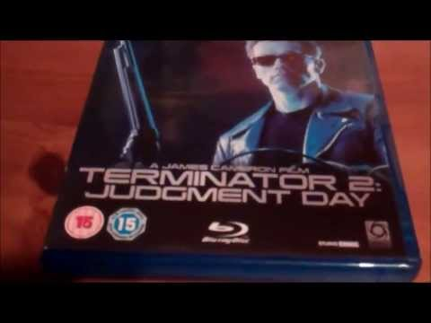 Terminator 2: Judgement Day Blu-Ray Unboxing