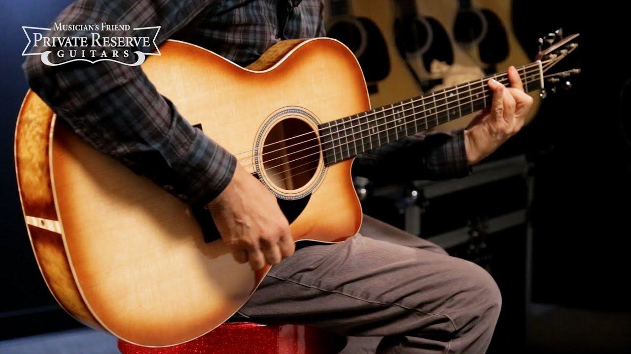 Martin Custom 2018 NAMM LTD Auditorium Acoustic Guitar w/ Cutaway and Quilted Big Leaf Maple