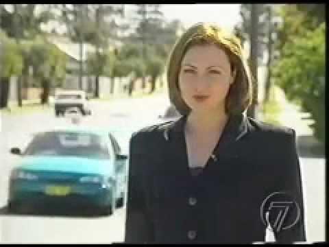 Australian Reporter's Response To Horn Honk