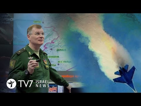 Moscow attributes full responsibility to Israel for downing of Russian jet -TV7 Israel News 24.09.18 (видео)