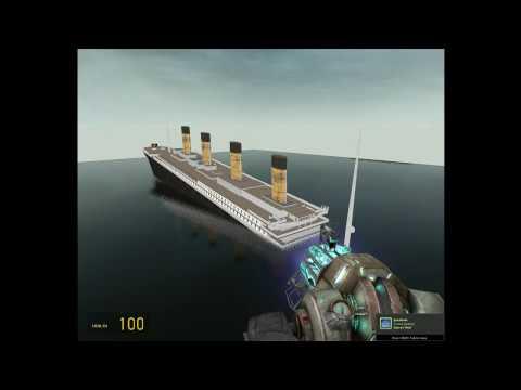 Titanic on Garrys mod