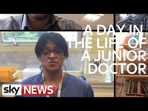 Junior Doctors Describe Their Workplace Challenges