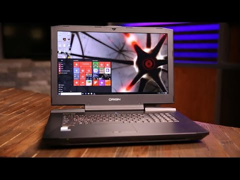 The Origin PC Eon17-SLX is a gaming laptop ready for VR