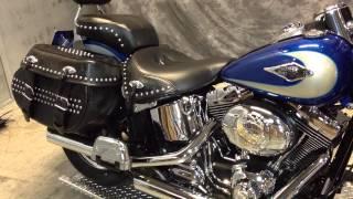 8. 2010 Harley-Davidson Heritage Softail.