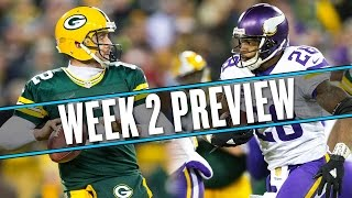 NFL Week 2 preview: Vikings debut Birdkiller Stadium with, uh, someone at quarterback | Uffsides by SB Nation