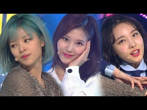《ADORABLE》 TWICE(트와이스) - What Is Love? @인기가요 Inkigayo 20180429
