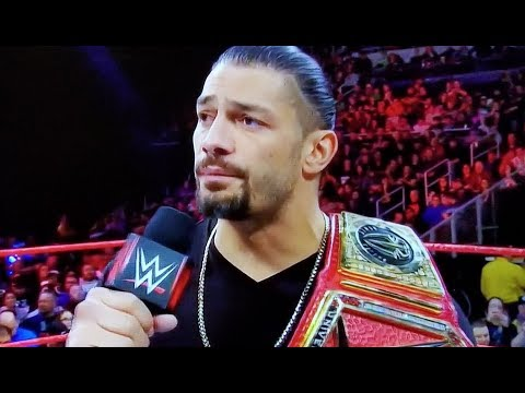 Roman Reigns Has Cancer & is leaving WWE to fight Leukemia