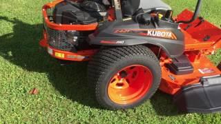 10. Kubota Z421 Zero Turn Mower