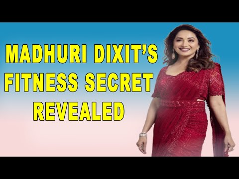 Heres how Madhuri Dixit is keeping herself fit during lockdown.
