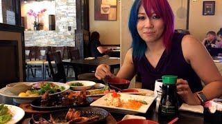 Video Asuka eats squid and other Japanese cuisine: WrestleMania Diary MP3, 3GP, MP4, WEBM, AVI, FLV Juli 2018