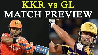 High on confidence following a hat-trick of victories, two-time champions KKR would look to continue their winning streak when they face struggling GL in a ...