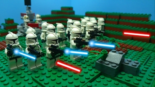 LEGO Star Wars GALACTIC CONQUEST PART 1: LEGO Star Wars Stop Motion Animation