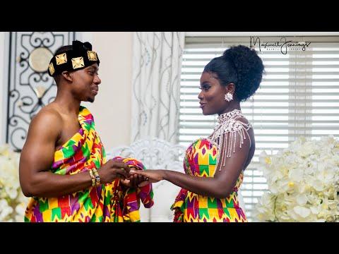 A Ghanaian Traditional Wedding ( Phillip & Tina)  #Onceuponamponsah