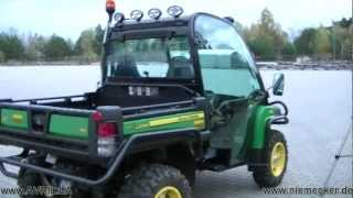 3. Gator XUV 855D Diesel 4x4 John Deere from Moline Illinois with Coffee holder
