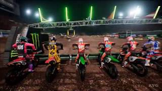 Monster Energy Supercross - Multiplayer Gameplay (PC HD) [1080p60FPS]