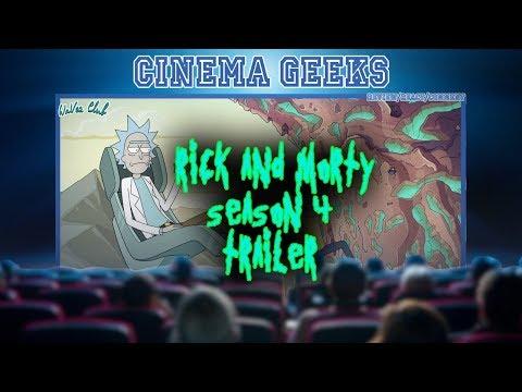 Rick & Morty  Season 4 Trailer [Reaction]