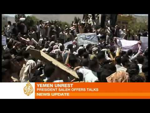 Unrest spreads across Yemen