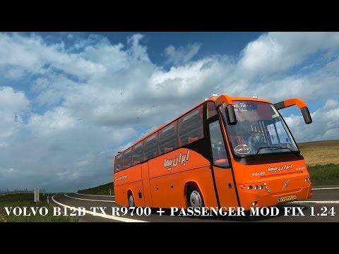 Volvo B12B TX R9700 + Passenger mod fix 1.24