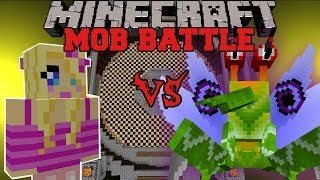 GIRLFRIEND VS SOLDIER BUG - Minecraft Mob Battles - Anti Plant Virus and Girlfriend Mods