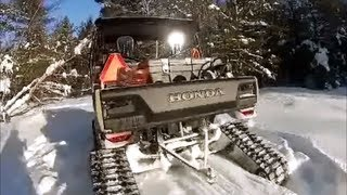 8. HONDA BIG RED WITH TRACKS! MUSIC BY STONE SOUR