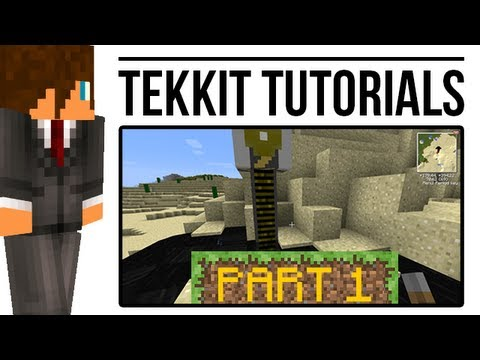 Tekkit Tutorial: Oil Extraction (BuildCraft)