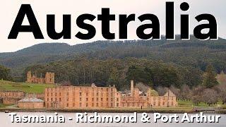 Port Arthur Australia  city photo : Australia - Tasmania - Richmond & Port Arthur