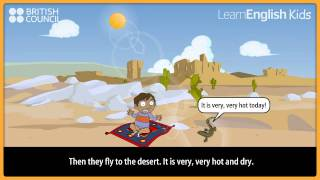 Ali and the magic carpet, Kids Stories