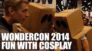 Fun with WonderCon Cosplayers | WonderCon 2014