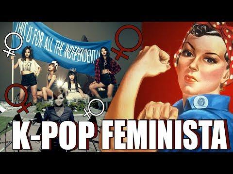 MV's COM MENSAGENS FEMINISTAS