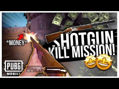 """""""SHOTGUN"""" Mission Makes """"MASSACRE"""" - PUBG MOBILE"""