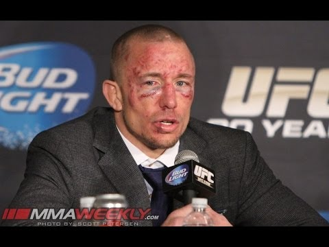 st - http://www.mmaweekly.com/ -- Georges St-Pierre said he needs to get away from the UFC for a bit. That doesn't sound exactly like he's retiring, but the jury ...