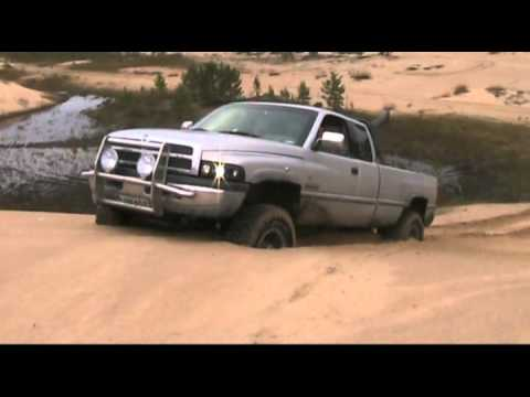 Dodge ram cummins TD on sandpit